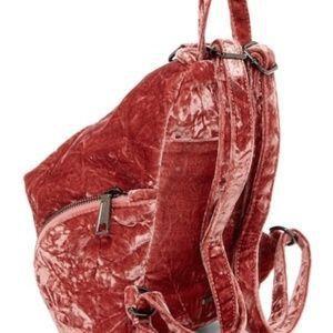 Rebecca Minkoff Medium Velvet Julian Backpack New!